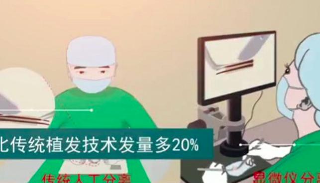 新生植发3D植发技术解决多种脱发问题