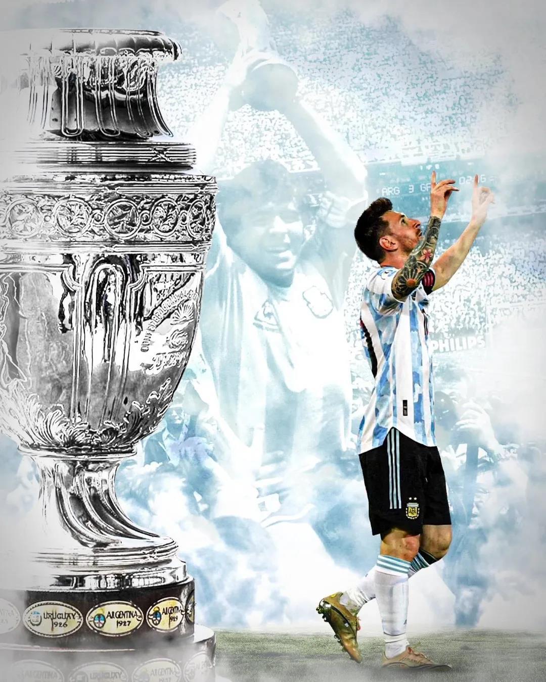 """梅西首夺美洲杯冠军,背后的""""它""""功不可没"""